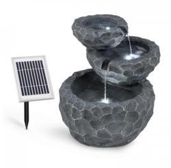 Blumfeldt Murach fântână arteziană, cu acumulator de funcționare, 2 W, panou solar, 3 LED-uri (SOL1-Murach)