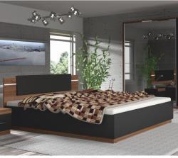 Tempo Kondela Degas ágy LED világítással 180x200cm