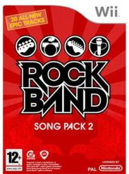 MTV Games Rock Band Song Pack 2 (Wii)
