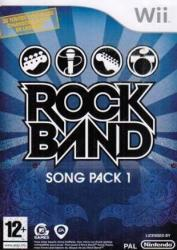 MTV Games Rock Band Song Pack 1 (Wii)
