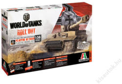 Italeri World of Tanks Pz Kpfw VI Tiger 1:56
