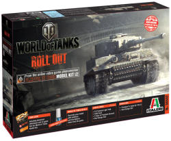 Italeri World of Tanks Pz Kpfw VI Tiger 1:35