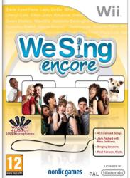 Nordic Games We Sing Encore (Wii)