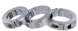 Szétnyitható acél farokgyűrű