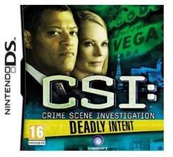 Ubisoft CSI: Crime Scene Investigation Deadly Intent (Nintendo DS)