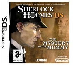 Focus Home Interactive Sherlock Holmes DS The Mystery of the Mummy (Nintendo DS)