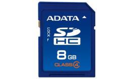 ADATA SDHC 8GB Class 4 ASDH8GCL4-R