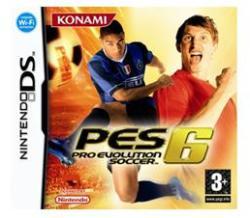 Konami PES 6 Pro Evolution Soccer (Nintendo DS)
