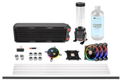 Thermaltake Pacific M360 D5 Hard Tube Water Cooling Kit (CL-W217-CU00SW-A)