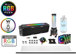 Thermaltake Pacific M360 Plus D5 Hard Tube Water Cooling Kit (CL-W218-CU00SW-A)