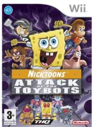 THQ Nicktoons: Attack of The Toybots (Nintendo Wii)
