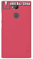 Nillkin műanyag védő tok / hátlap - PIROS - képernyővédő fólia - Sony Xperia L2