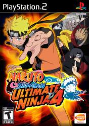 Namco Bandai Naruto Shippuden Ultimate Ninja 4 (PS2)