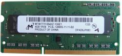 Samsung 4GB DDR3 MT8KTF51264HZ
