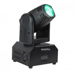 Ibiza LMH250-RC, ротационна глава, движеща се глава, Moving Head, 10W CREE LED RGBW 4 в 1, DMX, дистанционно управление (LMH250-RC) (LMH250-RC) - electronic-star