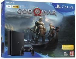 Sony PlayStation 4 Slim 1TB (PS4 Slim 1TB) + God of War
