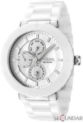 Fossil White Ceramic Multifunction CE1000