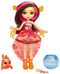 Mattel Enchantimals - Clarita Clownfish baba és kicsi bohóchala