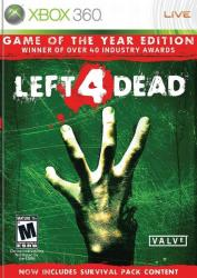 Valve Left 4 Dead [Game of the Year Edition] (Xbox 360)