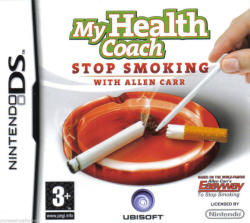 Ubisoft My Health Coach Stop Smoking with Allen Carr (Nintendo DS)
