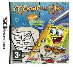 THQ Drawn to Life SpongeBob SquarePants Edition (Nintendo DS)
