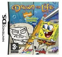 THQ Drawn to Life SpongeBob SquarePants Edition (Nintendo DS)
