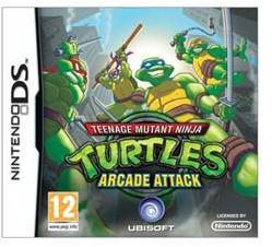 Ubisoft Teenage Mutant Ninja Turtles Arcade Attack (Nintendo DS)