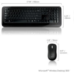 Microsoft Wireless Desktop 800 (2LF)