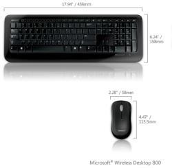 Microsoft Wireless Desktop 800 (2LF)