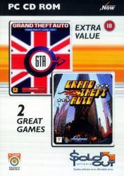 Rockstar Games Grand Theft Auto & GTA London 1969 Double Pack (PC)