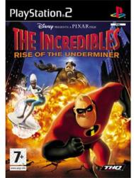 THQ The Incredibles Rise of the Underminer (PS2)