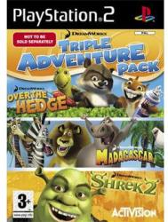 Activision DreamWorks Triple Adventure Pack (PS2)