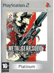 Konami Metal Gear Solid 2: Sons of Liberty - Platinum (PS2)