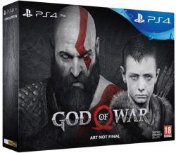 Sony PlayStation 4 Pro Jet Black 1TB (PS4 Pro 1TB) + God of War