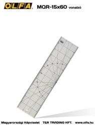 OLFA MQR- 15x60 fémvonalzó