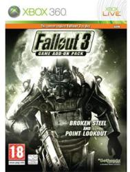 Bethesda Fallout 3 Broken Steel and Point Lookout Expansion (Xbox 360)