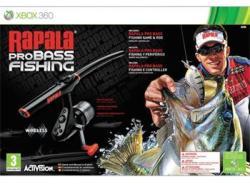 Activision Rapala Pro Bass Fishing [ROD Bundle] (Xbox 360)
