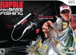 Activision Rapala Pro Bass Fishing [ROD Bundle] (Wii)