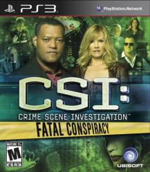 Ubisoft CSI: Crime Scene Investigation Fatal Conspiracy (PS3)
