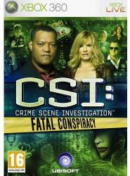 Ubisoft CSI: Crime Scene Investigation Fatal Conspiracy (Xbox 360)