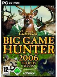 Activision Cabela's Big Game Hunter 2006 Trophy Season (PC)