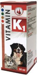 Vitamine K1 pentru câini și pisici 50 ml