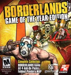 2K Games Borderlands [Game of the Year Edition] (PC)
