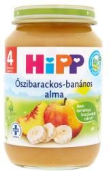 HiPP Őszibarackos-banános alma 4 hónapos kortól - 190g
