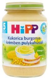HiPP Kukorica burgonyakrémben pulykahússal 5 hónapos kortól - 190g