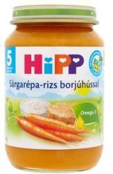 HiPP Sárgarépa-rizs borjúhússal 5 hónapos kortól - 190g
