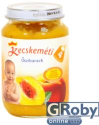 Kecskeméti Őszibarack bébiétel 4 hónapos kortól 190g
