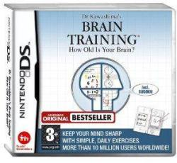 Nintendo Dr Kawashima's Brain Training How Old is Your Brain? (Nintendo DS)