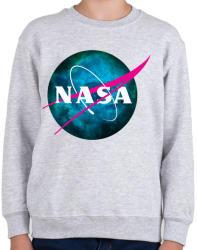 printfashion NASA NEBULA - Gyerek pulóver - Sport szürke