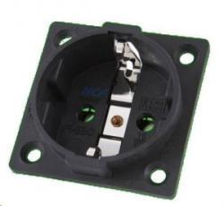 Furutech FI-E30NCFR Elosztó dobozba beépíthető ródiumozott hálózati aljzat, NCF technológiával